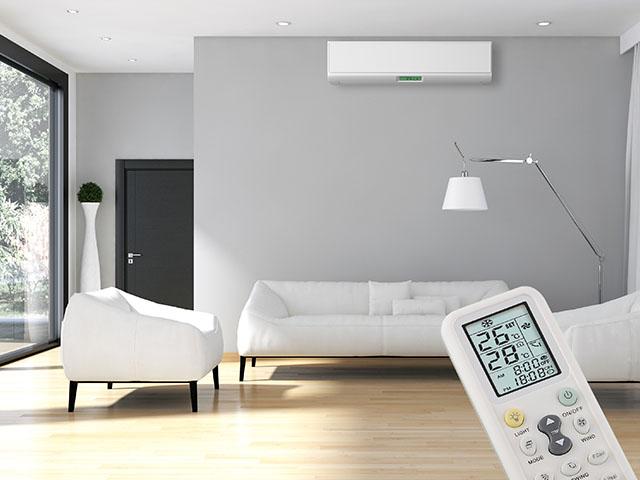 エアコンのお部屋の写真